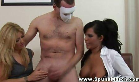 Gina seks menelan seks video bokep air mani untuk Oxy!